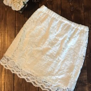 Xhilaration - Lace Skirt